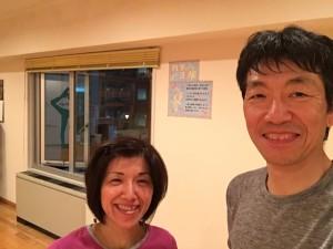 断食明けのレッスンは太田先生。断食初日も、でした。