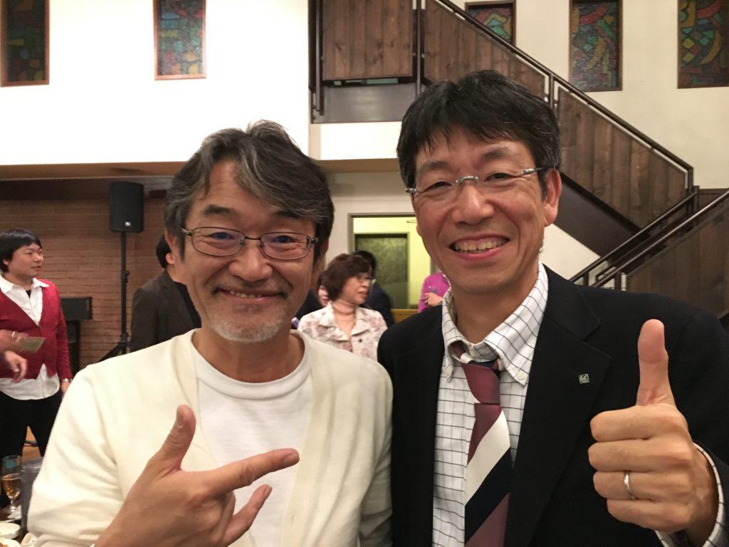 藤村先生。とってもフレンドリーに接してくださいました。ありがとうございます!