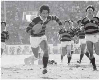 1985年1月6日、日本選手権出場を決めた大学選手権決勝、同志社大学vs慶応大学 日刊スポーツ( http://www.nikkansports.com/sports/news/1754510.html )より引用