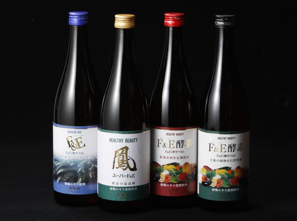 植物エキス発酵飲料 F&Eシリーズ