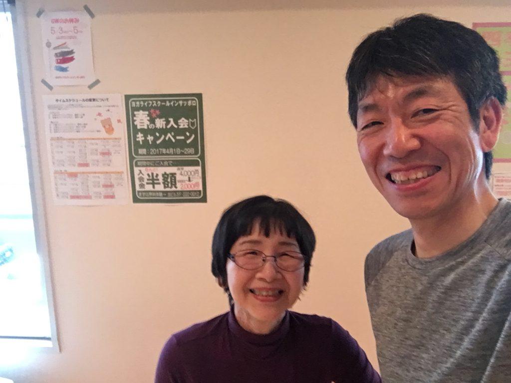 ベテランの大浦先生。いつも穏やかでとても優しい素敵な先生です。