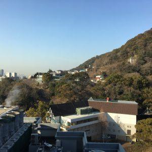 神戸はずっと好天。ホテルに缶詰めであちこち見て回れなかったのが残念。(あ、夜は飲み歩きましたけど・笑)