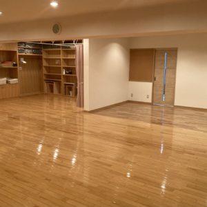 広くなった3階スタジオ